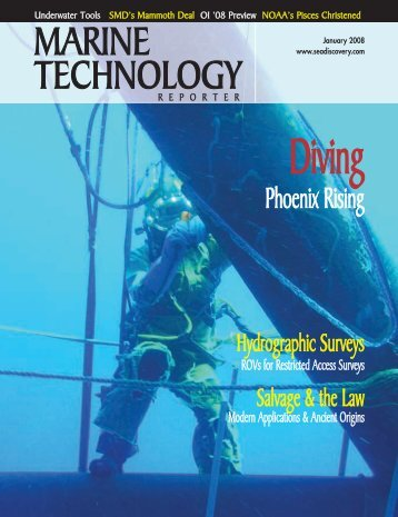 2008-Jan-Marine-Tech.. - Seaview Systems Inc