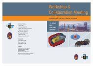 Workshop & Collaboration Meeting - Universe Cluster