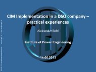 AM 2_CIM Implementation in a DSO company practical ... - CIMug