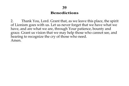 39 Benedictions 2  Thank