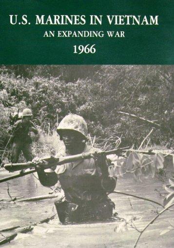 US Marines in Vietnam An Expanding War 1966 PCN ... - mcvthf