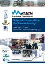 Bulgaria in European Union - New Business Openings