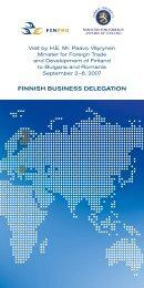 FINNISH BUSINESS DELEGATION
