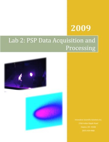 Lab 2: PSP Data Acquisition and Processing - Innovative Scientific ...