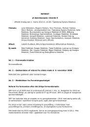 REFERAT af distriktsmøde i Distrikt 9 Afholdt tirsdag den 2. marts ...