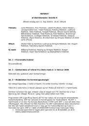 REFERAT af distriktsmøde i Distrikt 9 Afholdt onsdag den ... - Distrikt 8