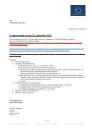 D8 D-stævnemøde 12. SEP 2012 Folkehjem - Distrikt 8