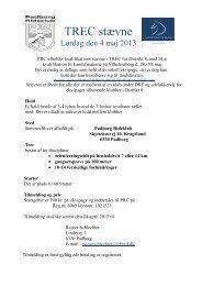 TREC stævne-maj 2013 - Distrikt 8