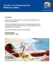 Wellness & Mehr 2011/2012 Neues Hotel ab sofort ... - Knauss Reisen