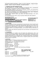 Ausschreibung zum Oldtimer-Treffen und zur ... - MSC Eppelborn