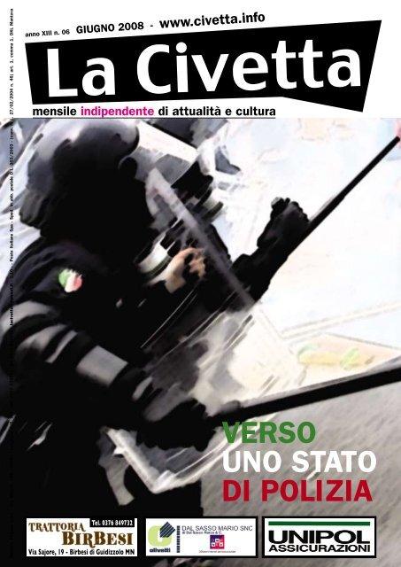 VERSO UNO STATO DI POLIZIA - La Civetta