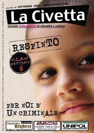 RESPINTO - La Civetta
