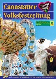 Volksfest-Zeitung 2006 - Cannstatter Volksfest