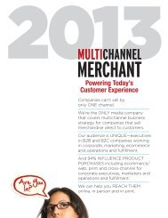 Are You In? - Multichannel Merchant