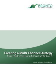 Creating a Multi-Channel Strategy - Multichannel Merchant