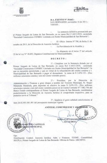 Extracto notificaci n por aviso juzgado de letras del for Juzgado de letras
