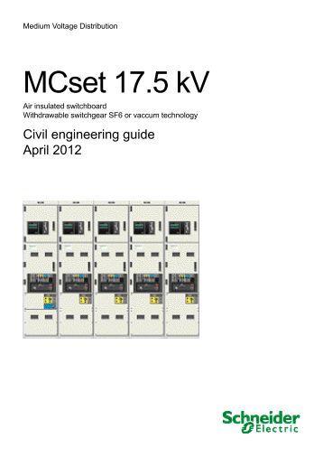MCset 17.5 kV - Schneider
