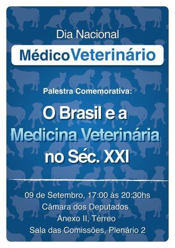 O Brasil e a Medicina Veterinária no Sec. XXI - CFMV