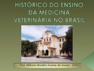 histórico do ensino da medicina veterinária no brasil - CFMV