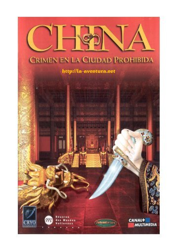 Manual de China : Crimen en la ciudad prohibida - La Aventura es ...