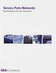 Service Parts Networks - Multichannel Merchant