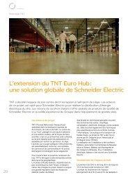 une solution globale de Schneider Electric