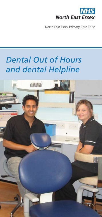 Dental Out of Hours and dental Helpline