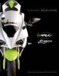 Elektromotorräder von Energica