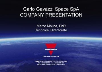 Company Presentation. - LARES Mission