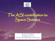 The ASI contribution to Space Science - LARES Mission