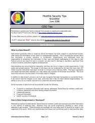 Monthly Security Tips CISO Tips Data Breach - Alabama.gov