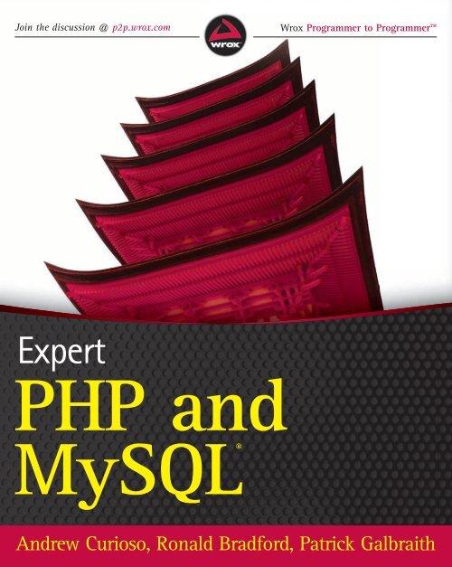 Expert PHP and MySQL pdf