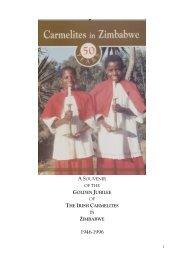 Carmelites in Zimbabwe - the Irish Province of the Order of Carmelites