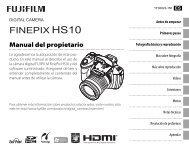 FINEPIX HS10 Manual del propietario