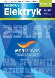 Fachowy Elektryk 1/2015