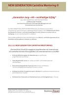 Folder - NEW GENERATION Carinthia Mentoring © 2015-16 - Page 2