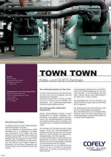 TOWN TOWN - COFELY Gebäudetechnik GmbH