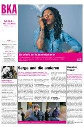 Berner Kulturagenda 2015 N° 13