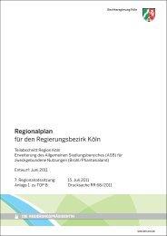 Tagesordnungspunkt 08-1 - Bezirksregierung Köln