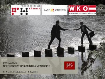 BFC New Generation Carinthia Mentoring Evaluation 2014
