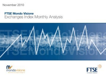 FTSE Mondo Visione Exchanges Index Monthly Analysis October ...