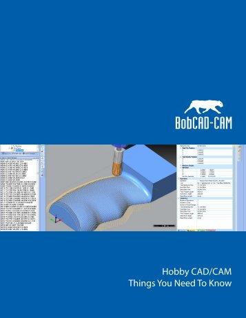 Hobby CAD-CAM Software.ai - BobCAD-CAM