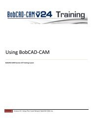 How to Design and Machine Parts – Part 1 - BobCAD-CAM
