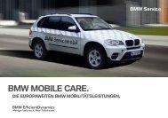2396 BMW Mobile Care Broschuere 220x155