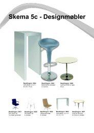 Skema 5c - Designmøbler - Messe C
