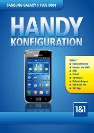 Handy Konfiguration Samsung Galaxy S Plus i9001