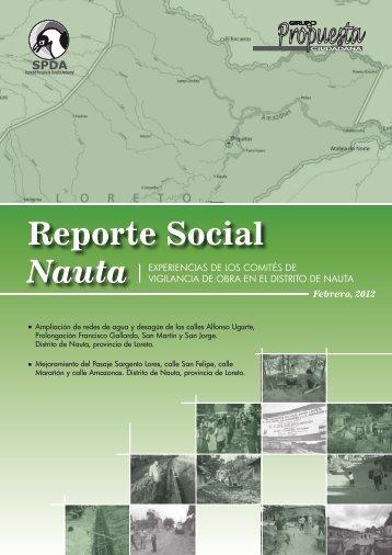 Reporte Social Nauta - Grupo Propuesta Ciudadana
