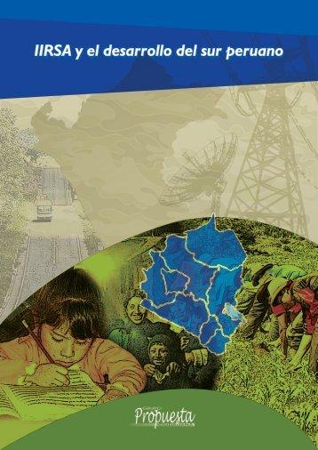IIRSA y el desarrollo del sur peruano - Grupo Propuesta Ciudadana