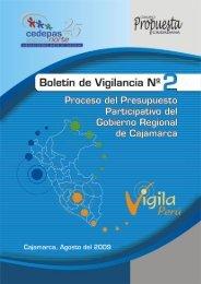 Presupuesto Participativo 2009 y 2010 Región Cajamarca - Grupo ...