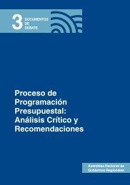 Proceso de Programación Presupuestal - Grupo Propuesta ...